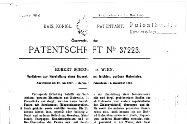 1908 Patent document