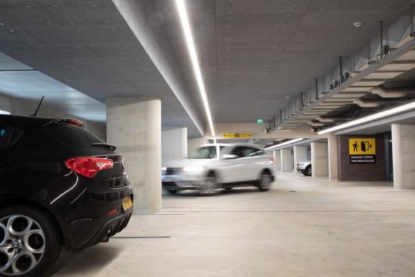 Garages and underground car parks