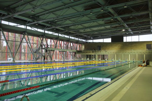Sports swimming pool in Györ